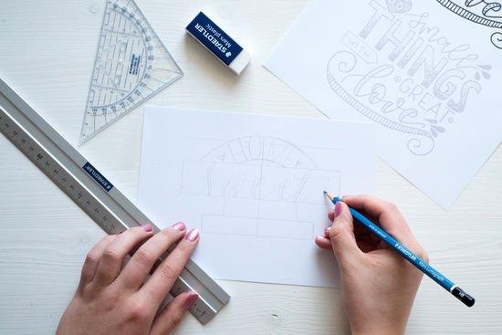 productos de hand lettering